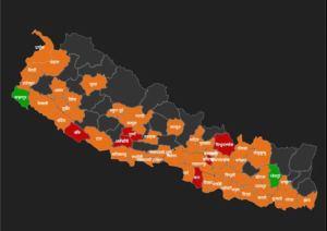 तीन अङ्कले बढ्दै कोरोनाः कुन प्रदेश र जिल्लामा कति ? (सूचीसहित)