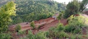 बझाङमा पहिरोः ७ जना बेपत्ता, १७ घर बगायो