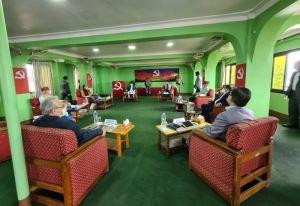 नेकपा सचिवालय बैठक पेरिसडाँडामा शुरू