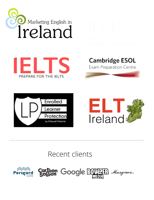 MEI, IELTS, Cambridge, ELT Ireland, English School in Dublin, Ireland