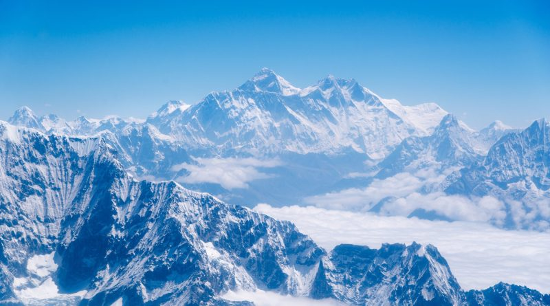 Mount Everest how tall