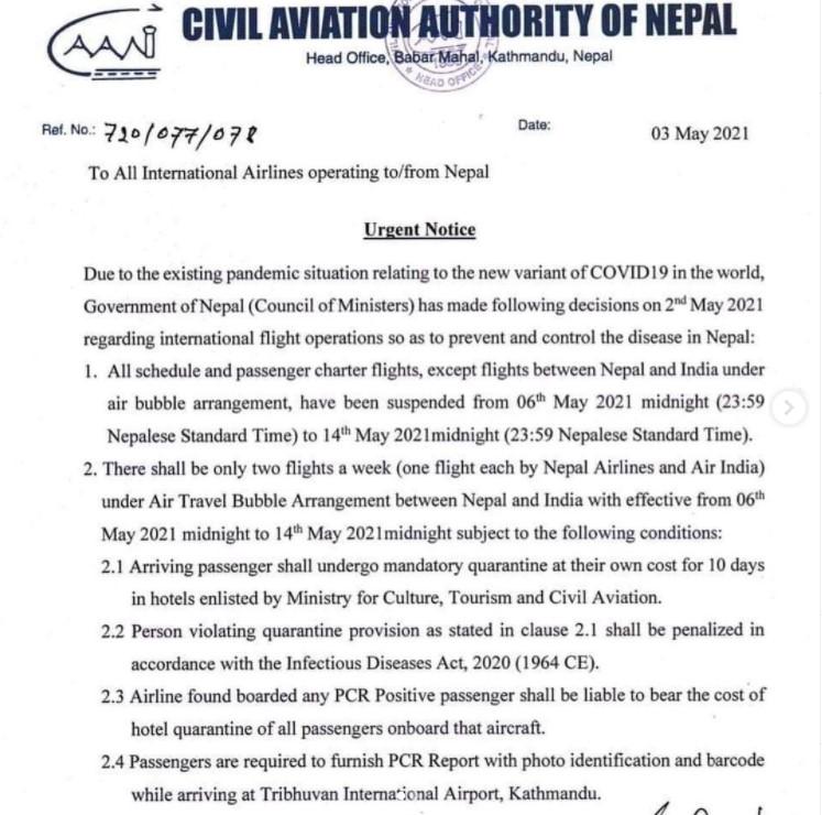 covid nepal civil