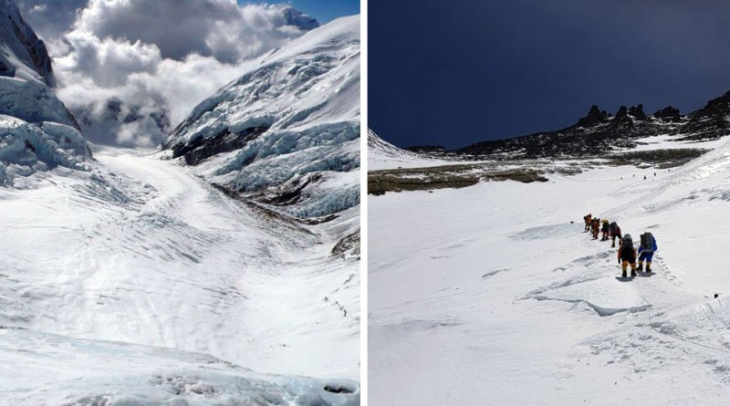 summit climb lhotse face