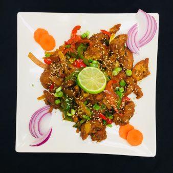 Chicken Tom-Yum Jalfrezi