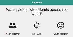 Screenshot of TwoSeven website