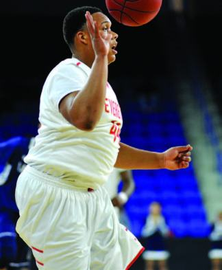 Jalen Smith chipped in with six points during Saturday's victory over Lawrence.