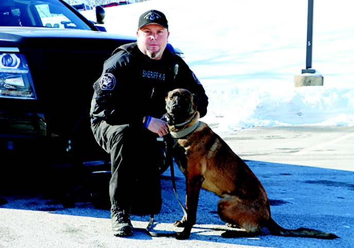 K-9 Dali Welcomed to the Middlesex Sheriff's Office