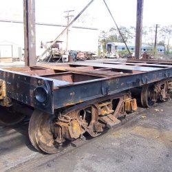 October 21, 2010.  Tender tank removed and tender frame rebuilt.
