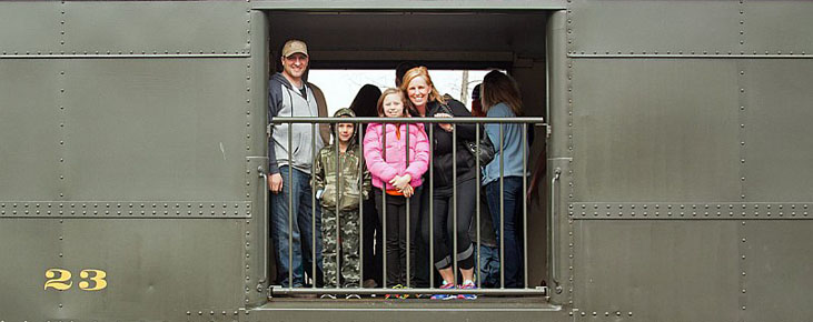 Everett Railroad Family Train 2016