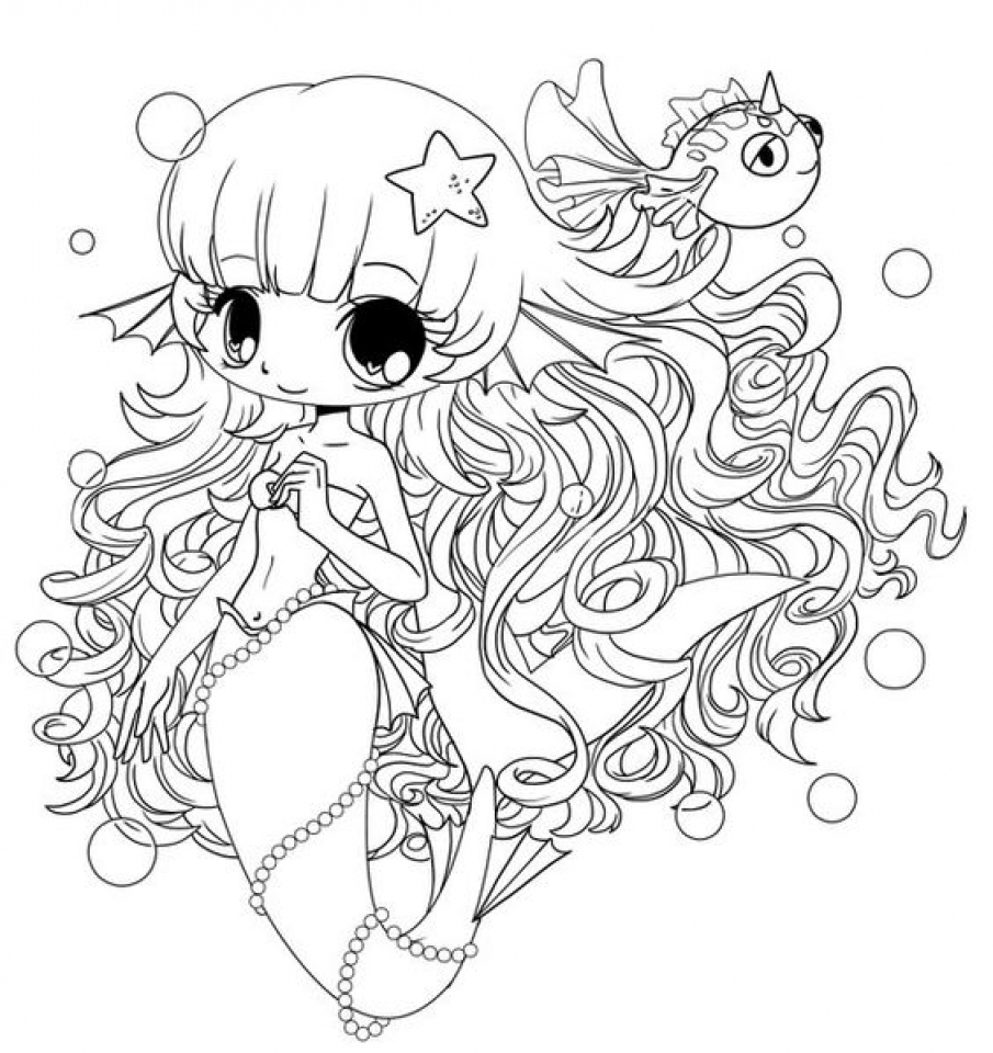 Chibi Coloring Pages Online Printable   B6QSA
