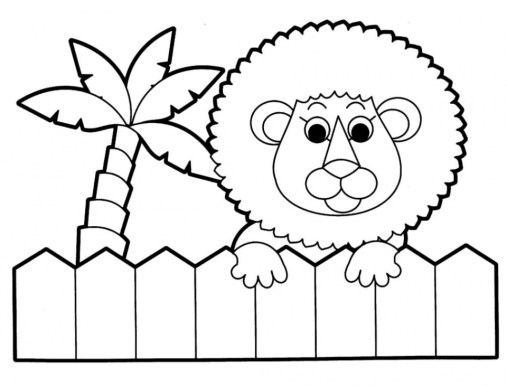 Kids' Printable Animals Coloring Pages Free Online G1O1Z