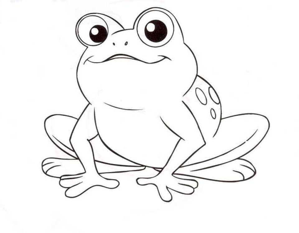 Frogs to print for free - Frogs Kids Coloring Pages | 750x960