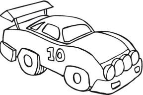 Car Coloring Page Free Printable 22398