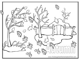 Free Autumn Coloring Pages to Print 16629