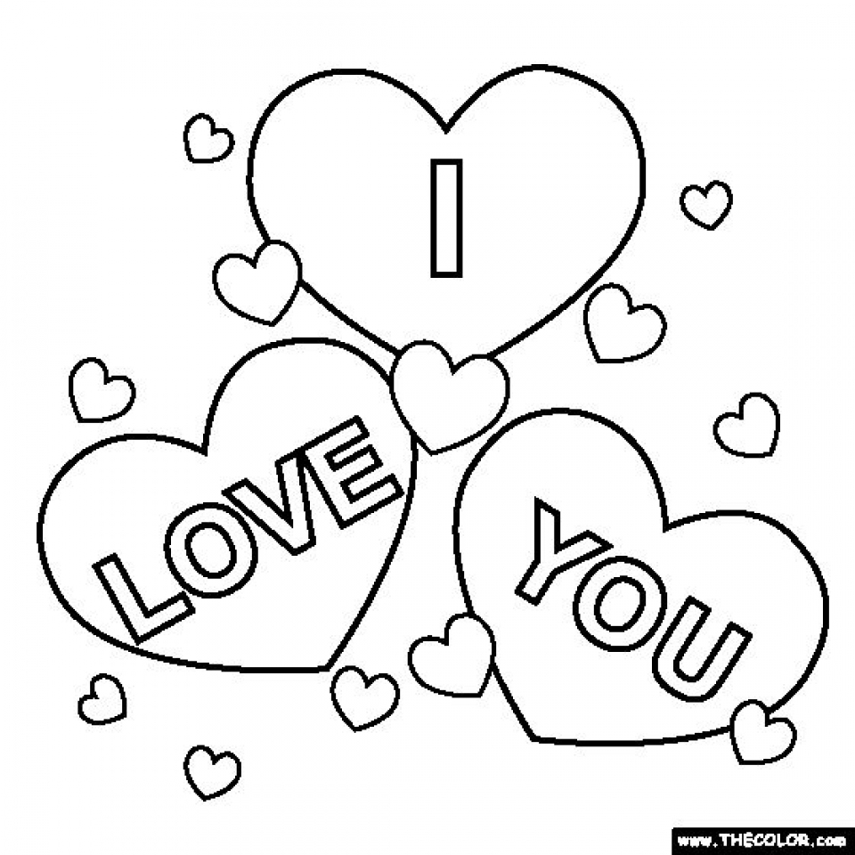Get free i love you coloring pages kids yy6l0, love you coloring pages