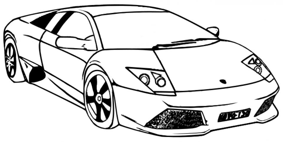Free Lamborghini Coloring Pages   25762