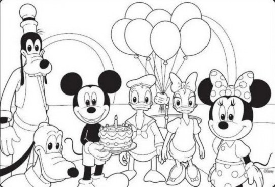 Free Mickey Coloring Pages to Print 88595