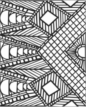 Free Mosaic Coloring Pages 92143