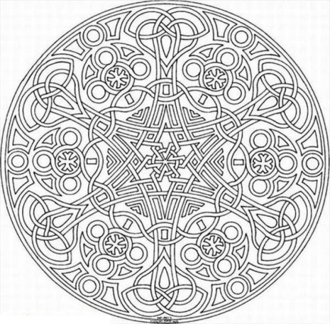 Free Mosaic Coloring Pages to Print 76049