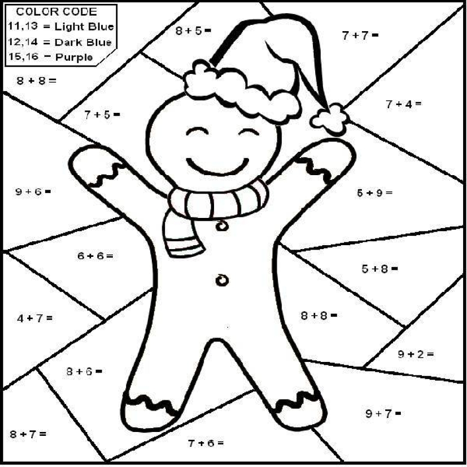 20+ Free Printable Math Coloring Pages - EverFreeColoring.com