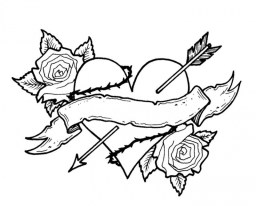 Free Roses Coloring Pages for Adults 75908