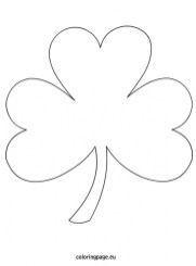 20 free printable shamrock coloring pages  everfreecoloring