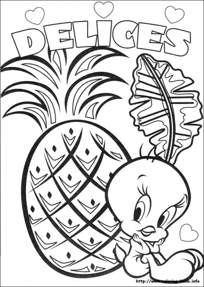 Get This Free Tweety Bird Coloring Pages 75908 !