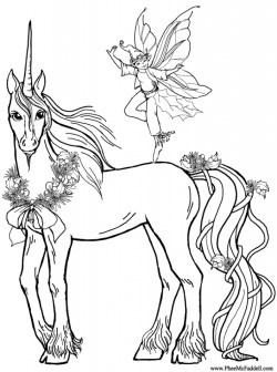 Free Unicorn Coloring Pages to Print 16629