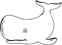 Free Whale Coloring Pages 4488