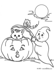 Ghost Coloring Pages Free Printable 9466