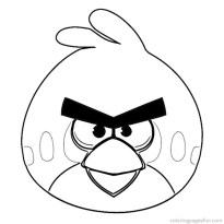 Kids' Printable Angry Bird Coloring Pages uNrZj