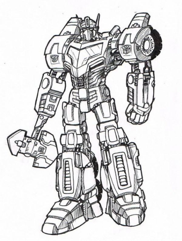 transformers prime coloring pages # 24