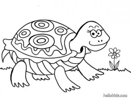 Kids' Printable Turtle Coloring Pages Free Online p2s2s