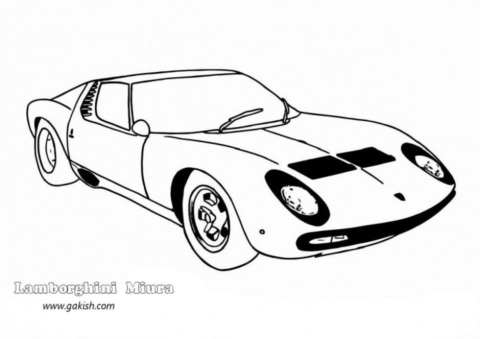 Lamborghini Coloring Pages Free Printable   9548