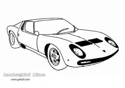 Lamborghini Coloring Pages Free Printable 9548