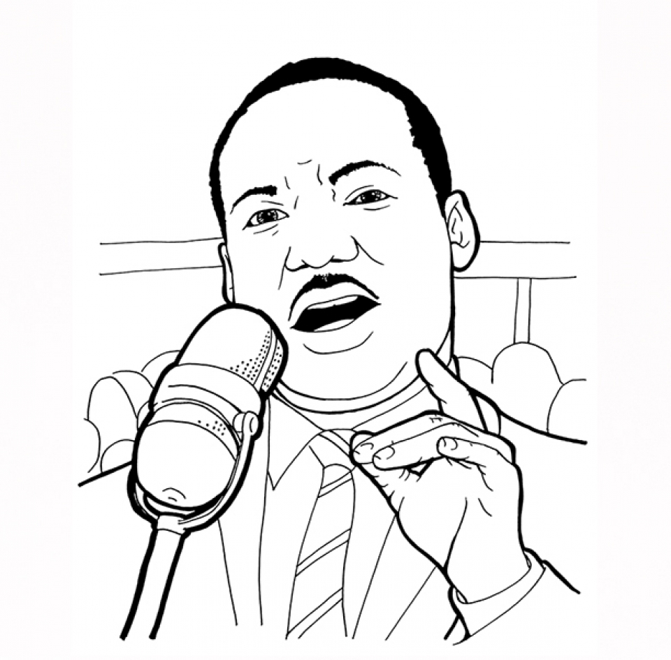 Get This Martin Luther King Jr Coloring Pages For Toddlers Dl53x