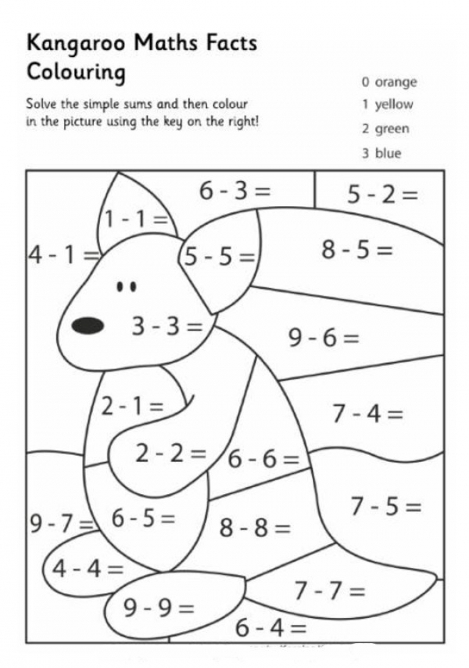 Math Coloring Pages to Print for Kids   aiwkr