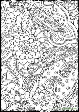 Mosaic Coloring Pages Free Printable 22398