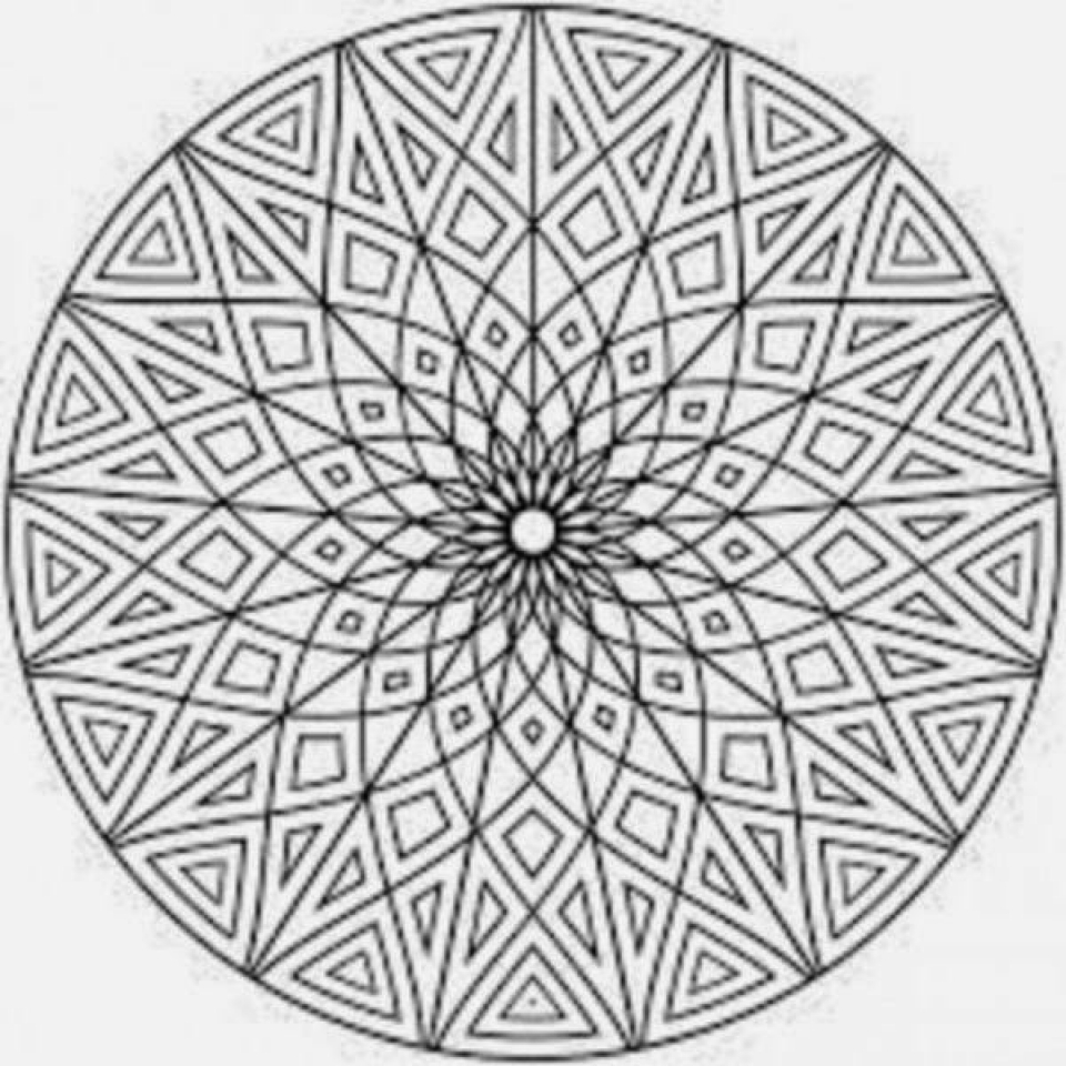 Get This Mosaic Coloring Pages Free Printable 42032