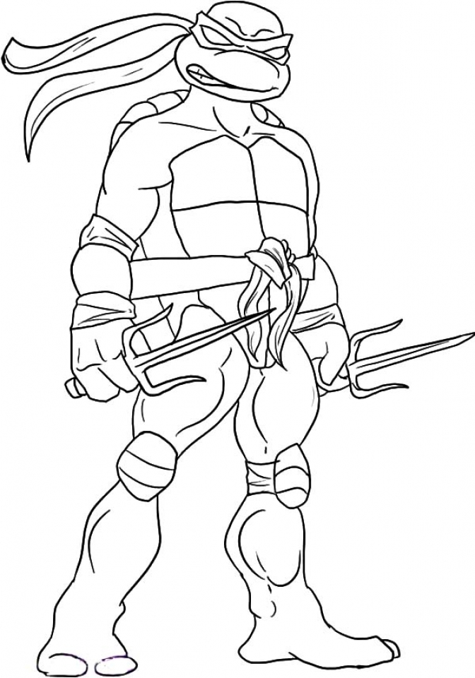 - 20+ Free Printable Ninja Turtle Coloring Pages - EverFreeColoring.com
