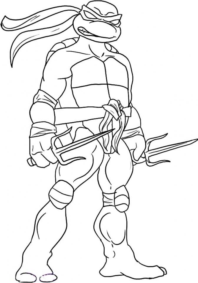 - Get This Ninja Turtle Coloring Page Free Printable 11070 !