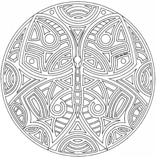Online Mandala Coloring Pages For Adults 88361