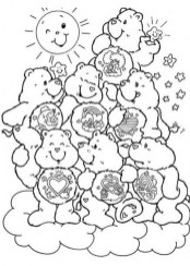 Online Printable Care Bear Coloring Pages rczoz