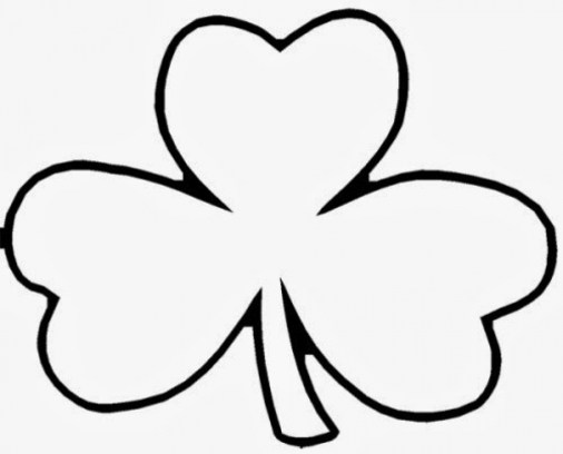 Online Shamrock Coloring Pages to Print swsyq