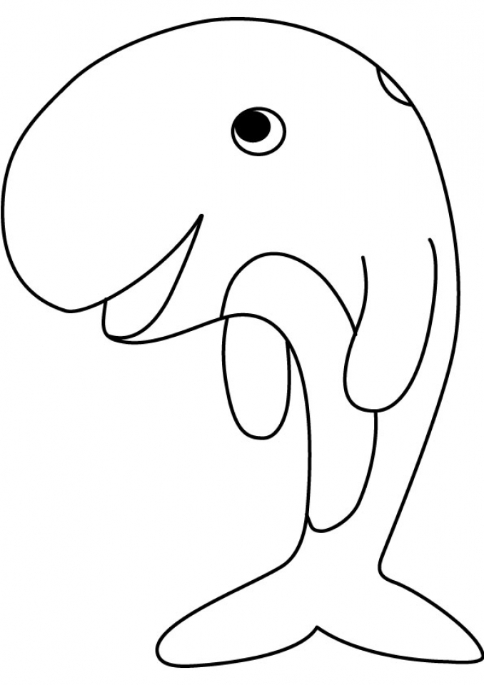 Online Whale Coloring Pages   78742