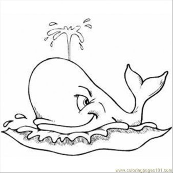 Online Whale Coloring Pages 88275