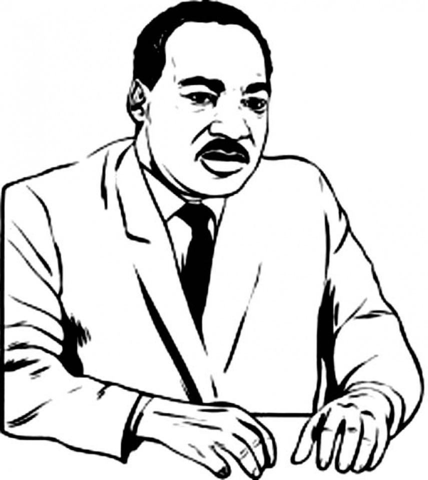 - Get This Picture Of Martin Luther King Jr Coloring Pages Free For