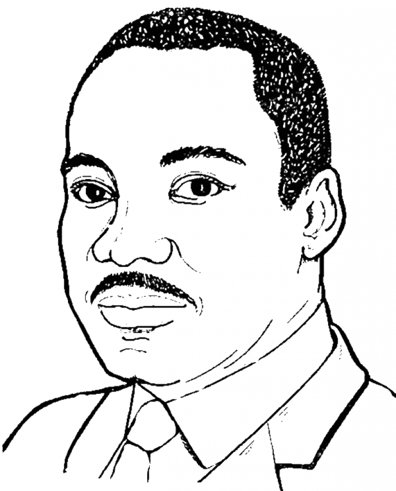 Get This Preschool Martin Luther King Jr Coloring Pages To Print Nob6i