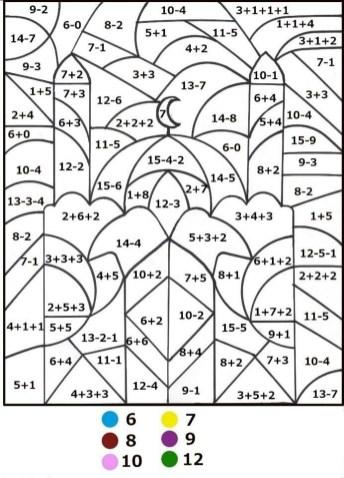 Preschool Math Coloring Pages to Print nob6i