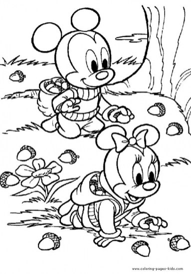 Preschool Printables of Fall Coloring Pages Free b3hca